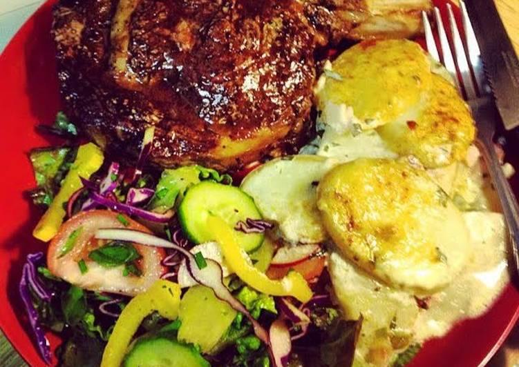 Perfect Bone In Rib Eye Steak