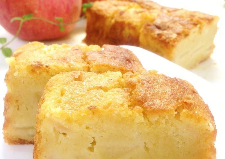 Easiest Way to Cook Appetizing Extravagant Double Apple Cake
