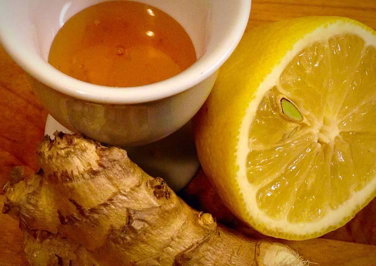 Lemon Ginger Honey Tea (for A Cold) Recipe by Ryan Goodwin ...