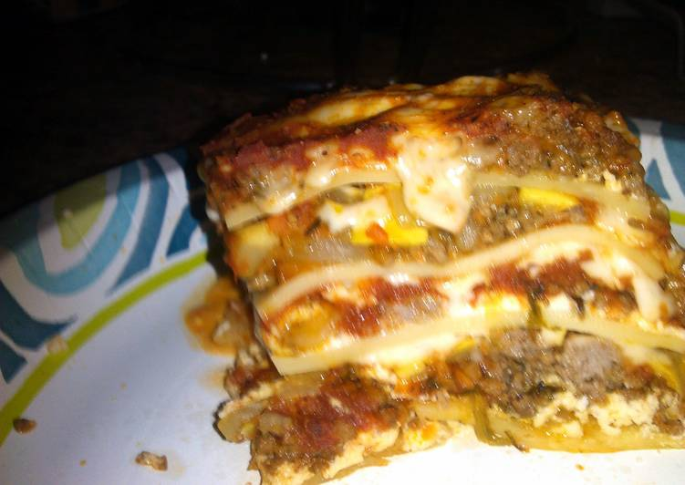 Recipe of Top-Rated vhawks heavenly healthy lasagna