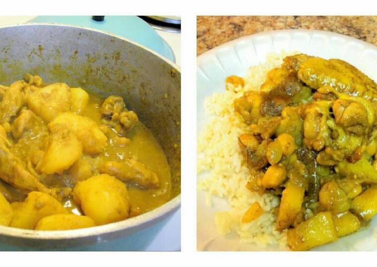 Jenn's Curry Chicken