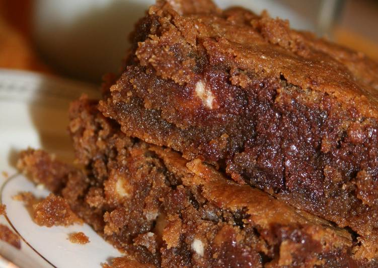 Almond Butter Quinoa Blondie Brownies