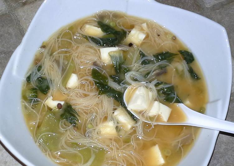 Easiest Way to Prepare Perfect Astragal & Miso Soup