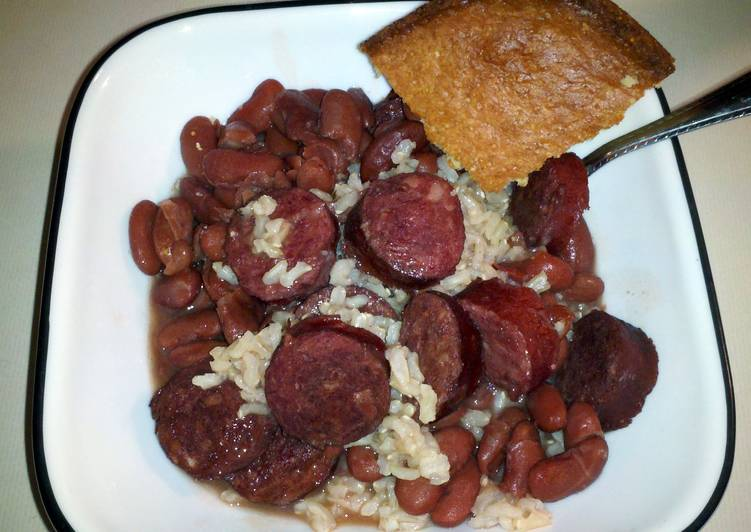 Diva's Red Beans and Rice