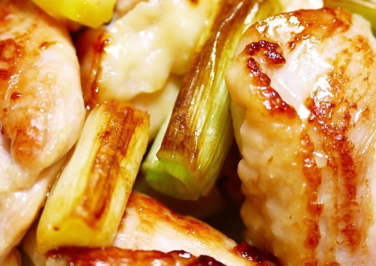 How to Prepare Favorite Plump and Juicy! Chicken Thigh Yakitori