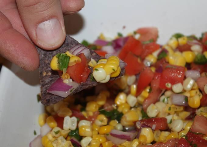 Recipe: Appetizing Easy Corn Salsa