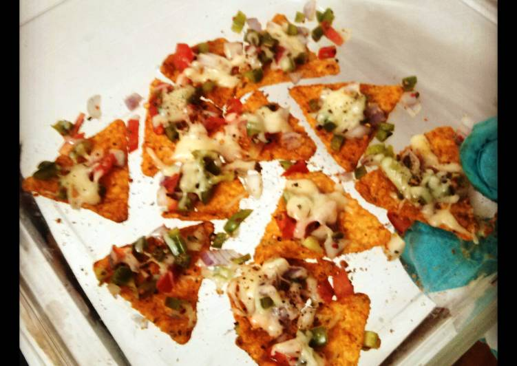 Steps to Prepare Award-winning Easy peasy baked nachos