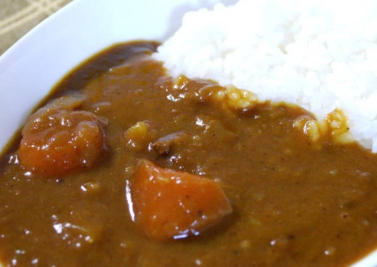The Vegetables Just Melt! Special Curry Using A Pressure Cooker