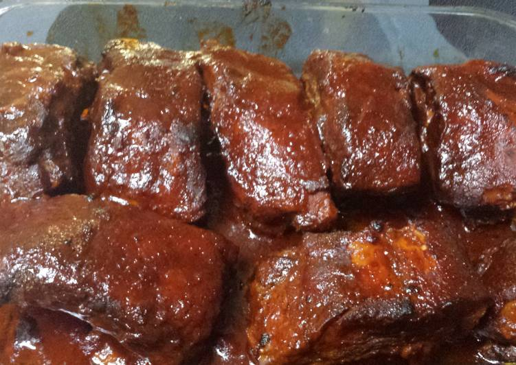 Simple Way to Prepare Award-winning Crockpot BBQ Ribs