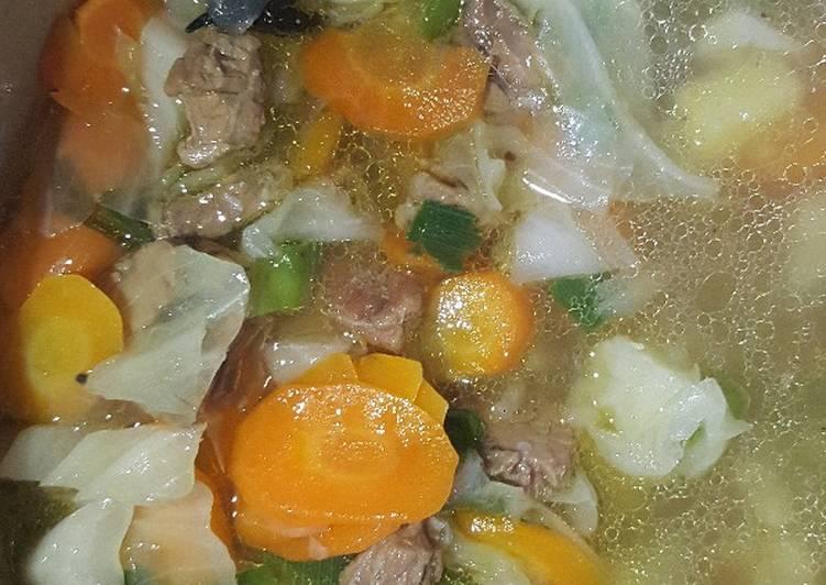 Sop daging sapi rempah
