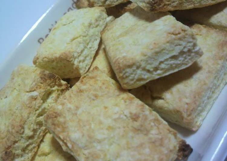 Diet-Friendly Okara Scones - Laurie G Edwards