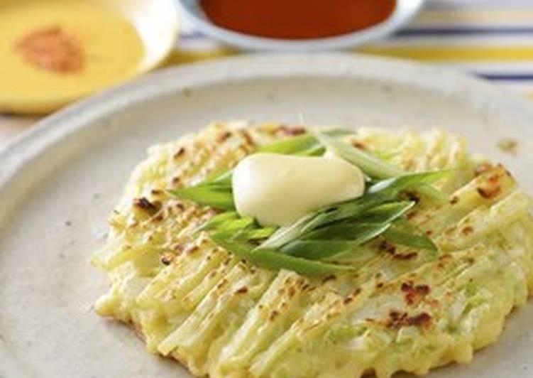 Simple Way to Make Favorite Vegetable Packed Okonomiyaki