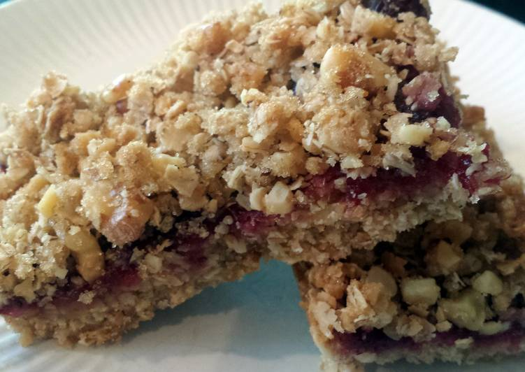 Easy Homemade Cranberry bars Recipe