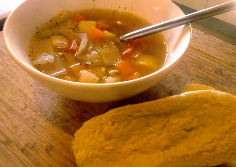 Heathers Vegetable Soup, Choosing Wholesome Fast Food