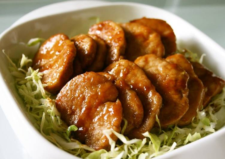 Recipe of Speedy Curry Flavored Pork Fillets