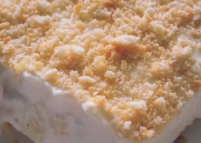 Ritz Cracker Ice Cream Dessert