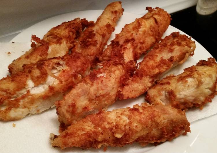 How to Cook Supreme Tasty Fried Chicken Strips
