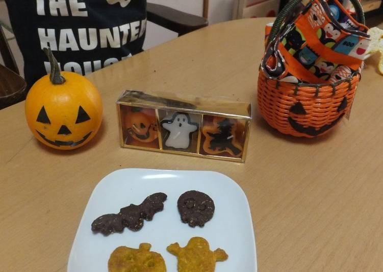 Kabocha Squash Cookies for Halloween