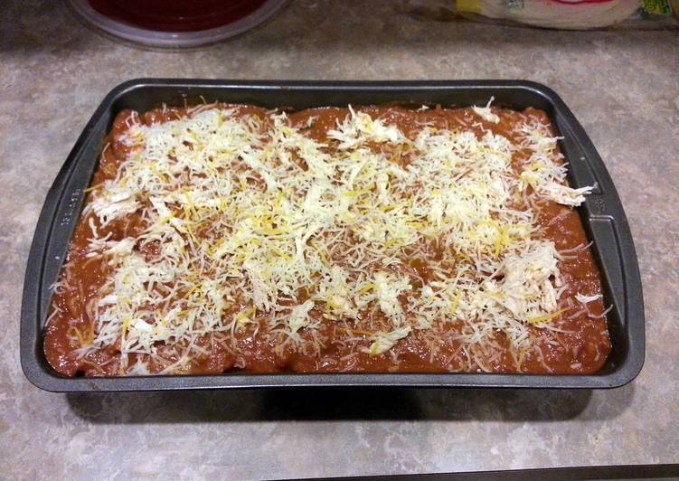 Recipe of Award-winning Larry's Chicken enchiladas
