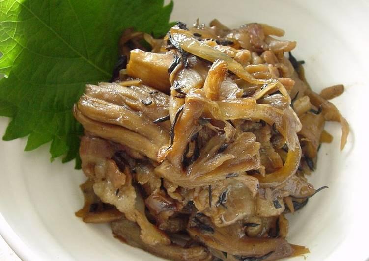 Steps to Make Ultimate Maitake Mushroom & Hijiki Seaweed
