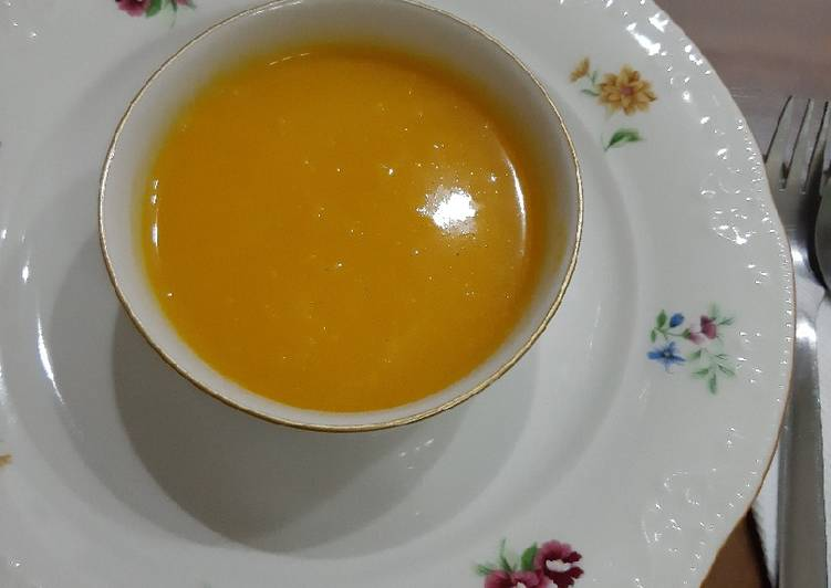 Recipe of Favorite Carrot Soup ala MevrouwPinda