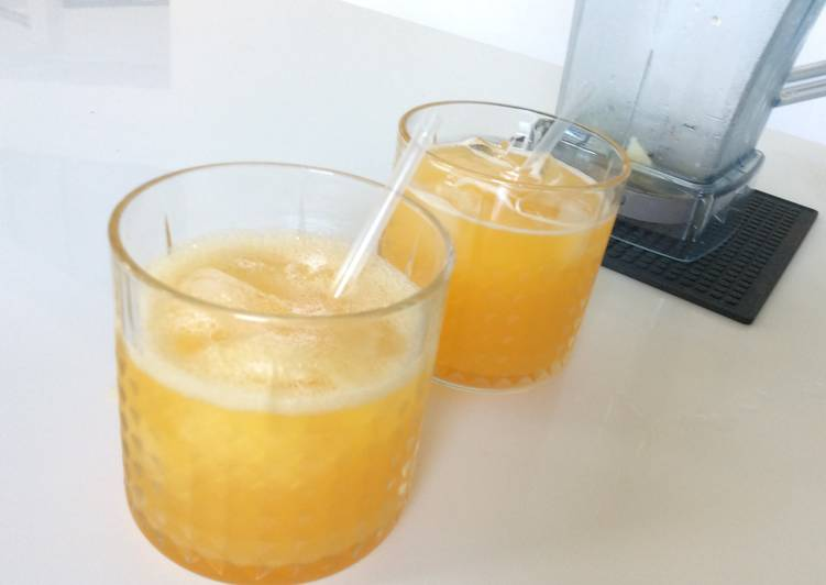Honey - Orange Smoothies
