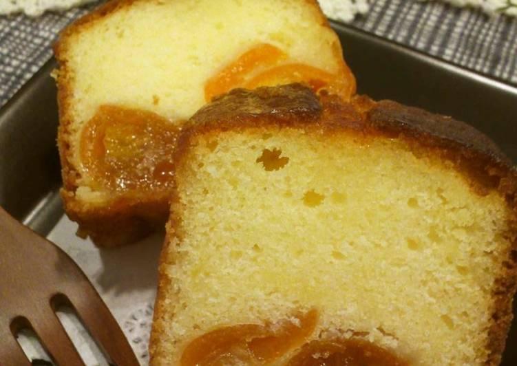 Recipe of Speedy Kumquat Pound Cake