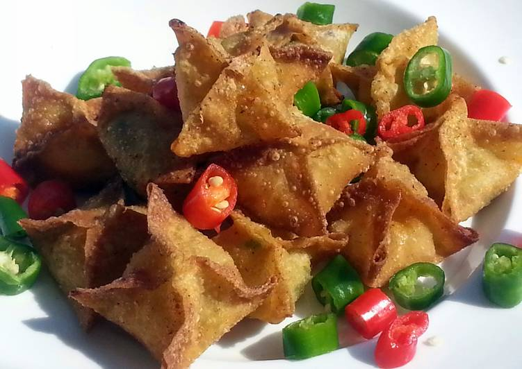 Recipe of Quick Crab Rangoon / Easy Appetizer