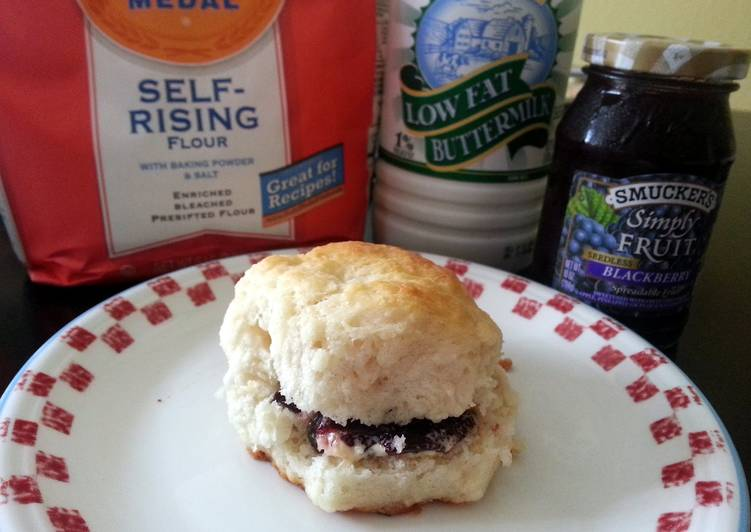 Simple Way to Make Award-winning My Dad's Homemade Biscuits