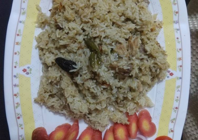 Jhatpat chicken pulav one pot meal