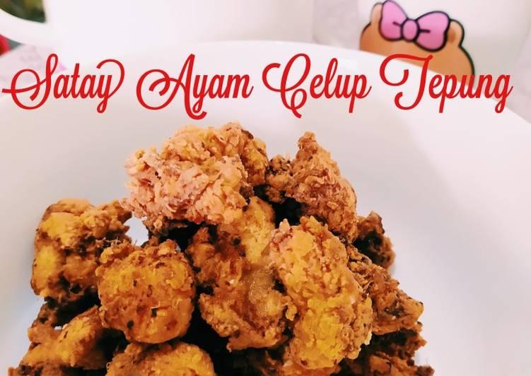 Satay Ayam Celup Tepung - velavinkabakery.com