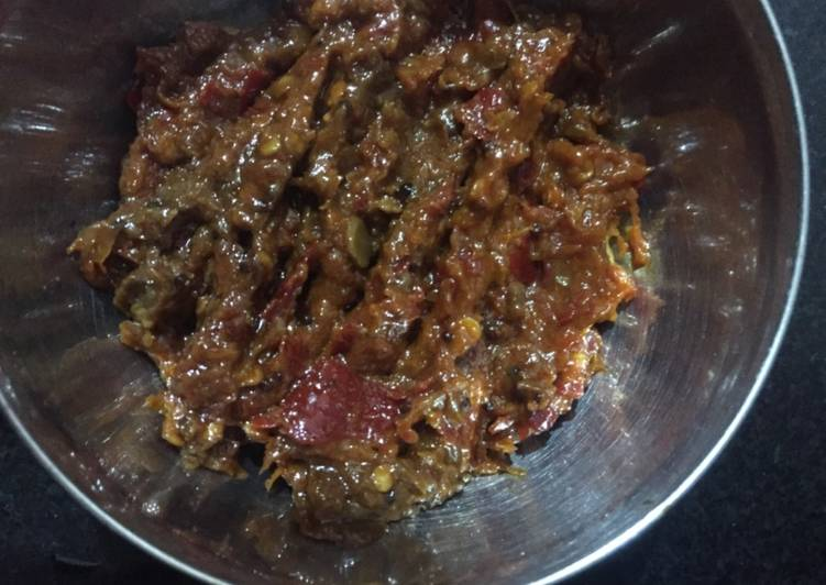 Recipe of Award-winning Red chilli chutney