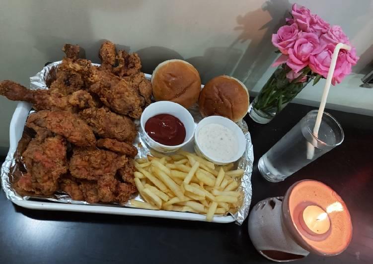 Recipe: Appetizing Chicken al baik from saudi Arabia
