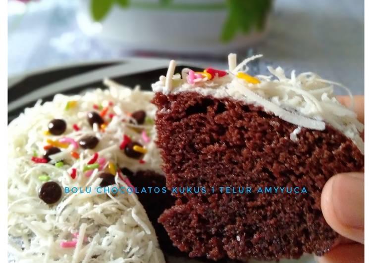 resep masak Bolu chocolatos kukus 1 telur - Sajian Dapur Bunda
