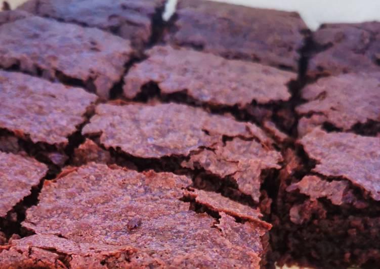 Fudgy Cocoa Brownies (gluten free)