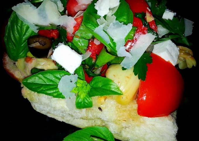 "Recipe: Yummy Mike's, ""Wild About Garlic,"" Bruschetta"