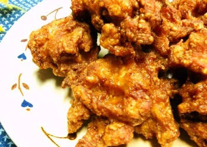 Delicious Japanese Fried Chicken with Crunchy Cartilage