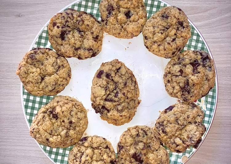 Le moyen le plus simple de Préparer Délicieux Cookies pépites de chocolat 🍫