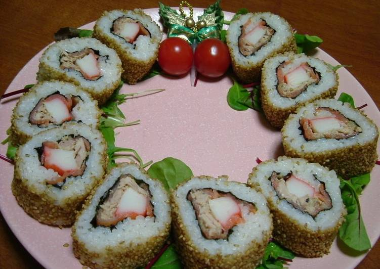 California Rolls Wreath