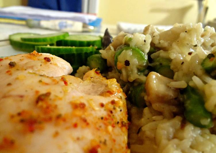 Easiest Way to Prepare Tasty Asparagus Risotto