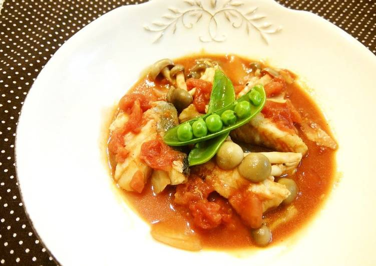 Haddock Tomato Simmer