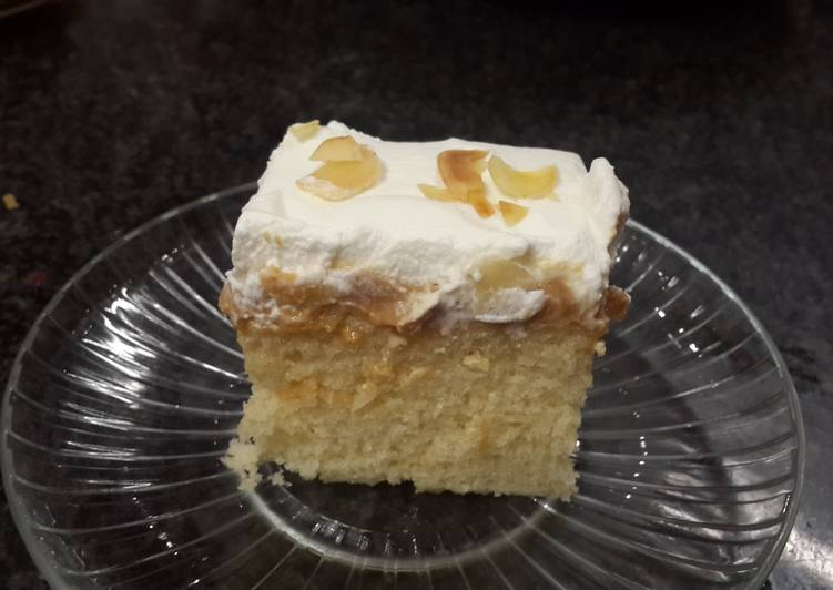 Plain sponge cake
