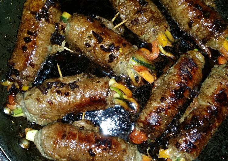 Balsamic glazed steak rolls, Some Foods That Are Good For Your Heart