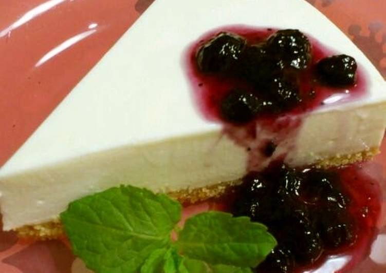 My Special Authentic No-Bake Cheesecake