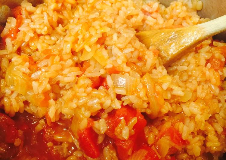 Better Than Your Mom's Spanish Rice