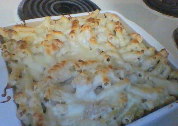 Baked Chicken Alfredo Ziti, Helping Your Heart with The Right Foods