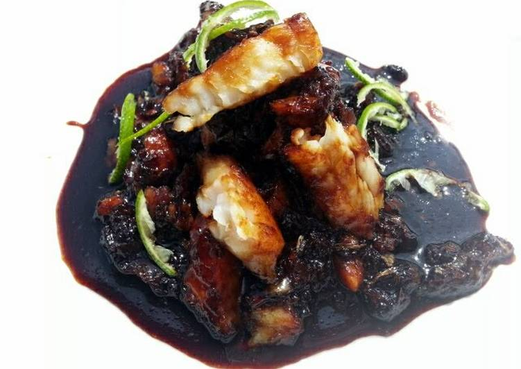 Carmelized Fish