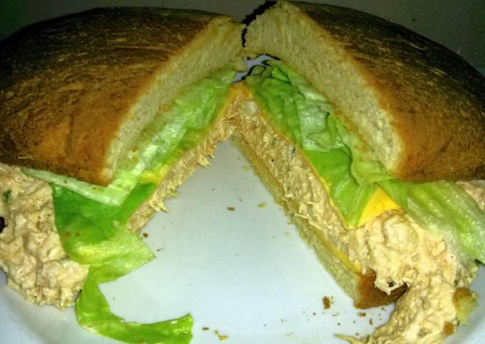 Recipe of Quick chicken breast sandwich