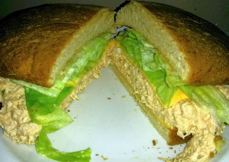 Easiest Way to Prepare Tasty chicken breast sandwich