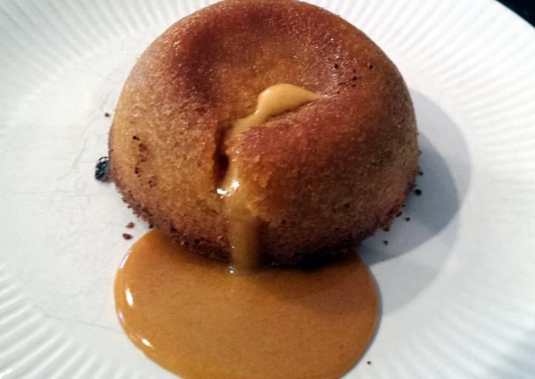 Butterscotch lava cakes